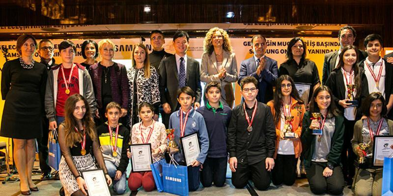 Samsung Geleceğin Mucitleri Yarışması'nın kazananları ödüllendirildi