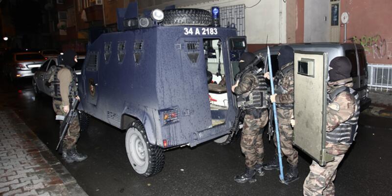 Bağcılar ve Sultanbeyli'de IŞİD operasyonu
