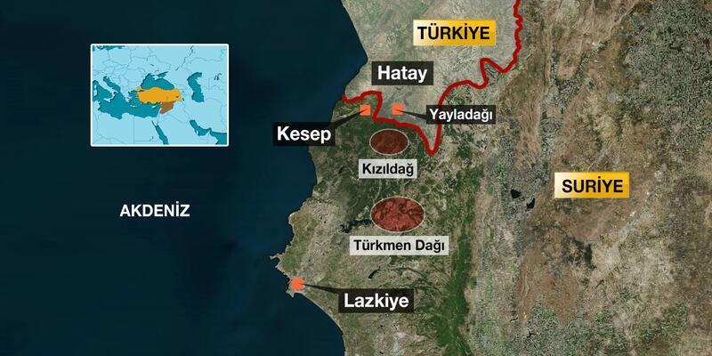 Kızıldağ tepesi tekrar Türkmenlerin eline geçti
