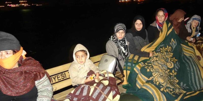 Ayvacık'ta göçmen faicası