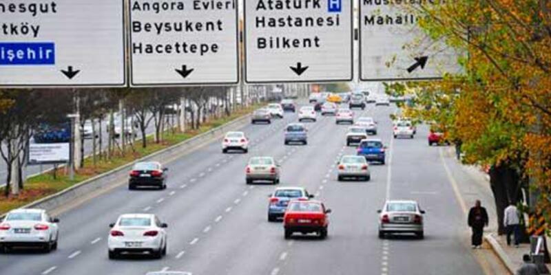 Ankara'da bazı yollar güvenlik nedeniyle trafiğe kapatıldı