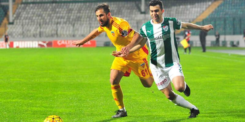 Bursaspor'a bir darbe de Kayserispor'dan!