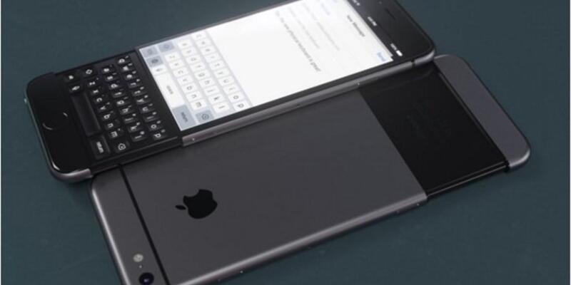 Fiziksel klavyeli iPhone 7