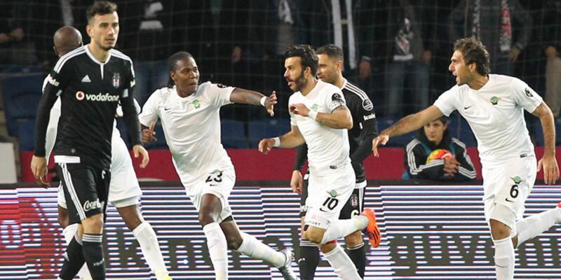 Beşiktaş'a Akhisar şoku! Beşiktaş 0-2 Akhisar Belediyespor