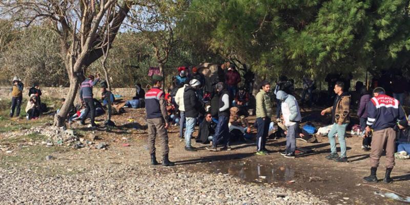 Kaçak göçmenlere Çanakkale'de dev operasyon