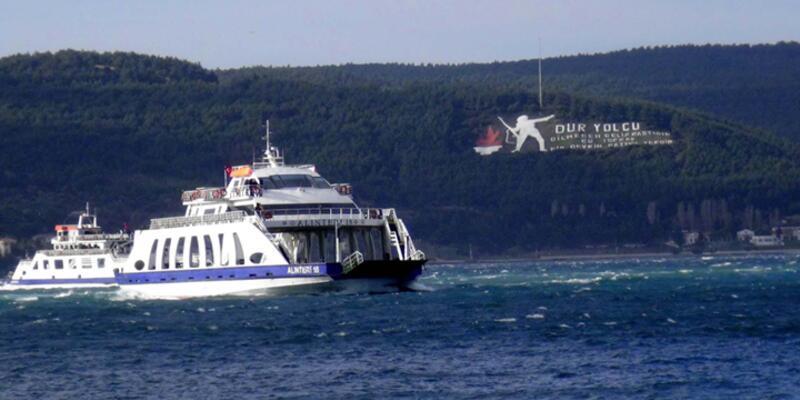 Çanakkale'de feribot kazası