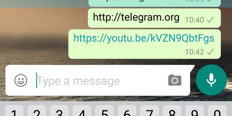 WhatsApp, linkleri engelliyor!