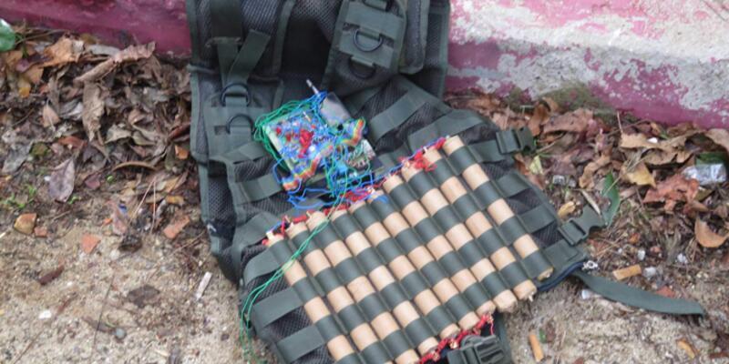 Kartal'da sahte canlı bomba yeleği polisi alarma geçirdi