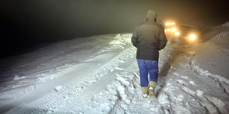 Kara kış yolları tutmaya başladı