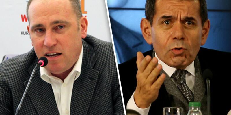 """Harun Erdenay'dan Galatasaray Başkanı Özbek'e """"sen kimsin?"""" yanıtı"""