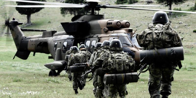 1 bölük Türk askeri eğitim amaçlı Musul'da
