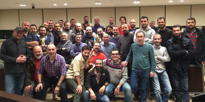 Haber kameramanları İstanbul'da toplandı
