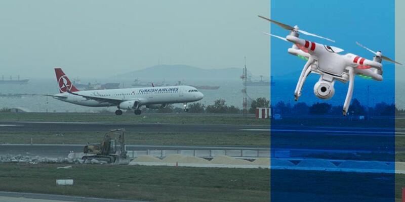 Atatürk Havalimanında yine drone vakası