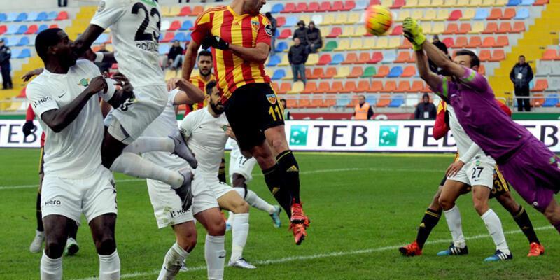 Akhisar Belediyespor'a Kayseri freni
