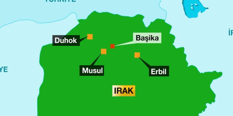 Türk askerleri Başika'dan çekiliyor