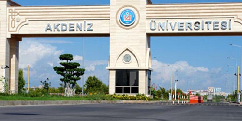 """Akdeniz Üniversitesi'nde """"kaset"""" operasyonu"""