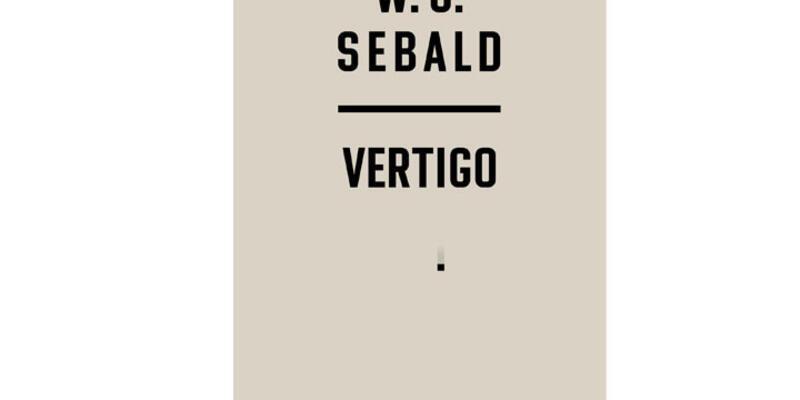 """W.G. Sebald'ın """"Vertigo"""" adlı kitabı Can Yayınları'ndan çıktı"""