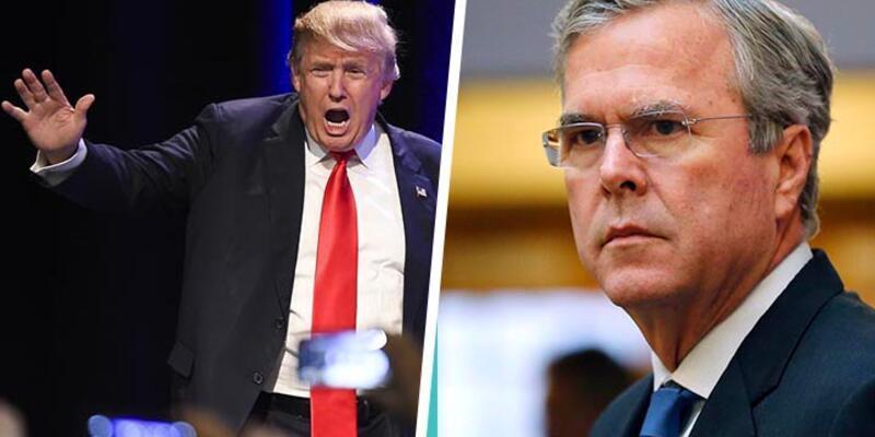 """Trump ile Bush'un """"skandal, büyük felaket"""" kapışması"""