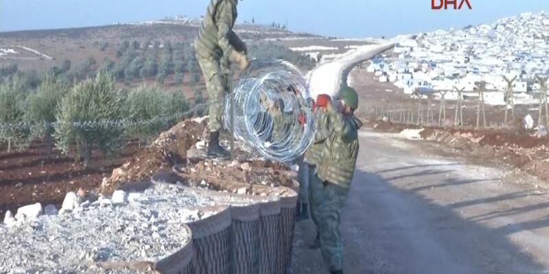 Suriye tarafından Yayladağı'na ateş
