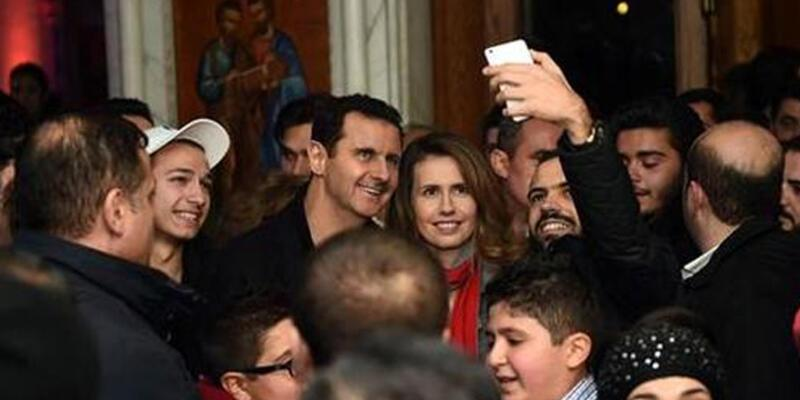 Esad çifti kilisede ortaya çıktı!