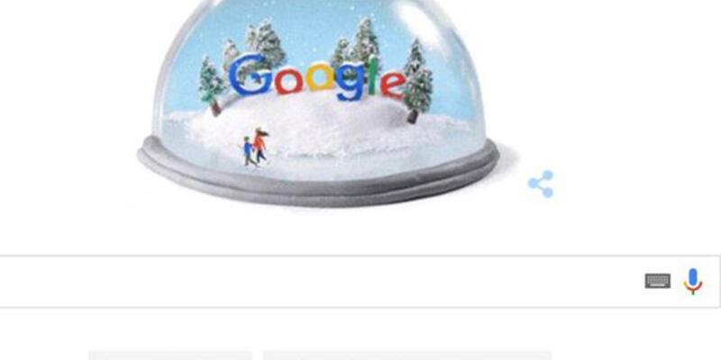 Google Kış gündönümü için doodle hazırladı