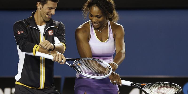 Teniste  Djokovic ve Williams'ın yılı