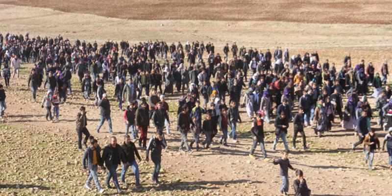 İdil'den 3 bin kişi Cizre'ye yürüyor