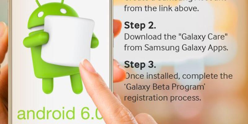 Samsung Android 6.0 Marshmallow test sürecini başlattı