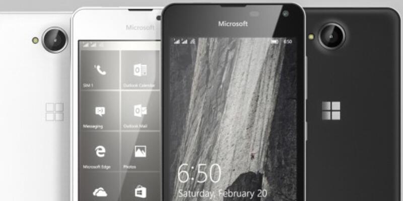 Microsoft Lumia 650 resmen geliyor!