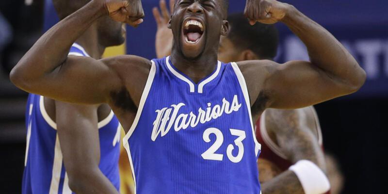 NBA'de final provası Warriors'un!