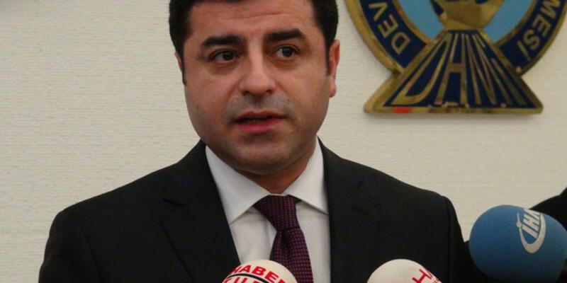 HDP'den Davutoğlu'na iptal tepkisi