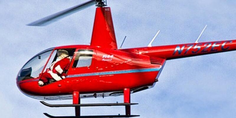Noel Baba helikopter çaldı