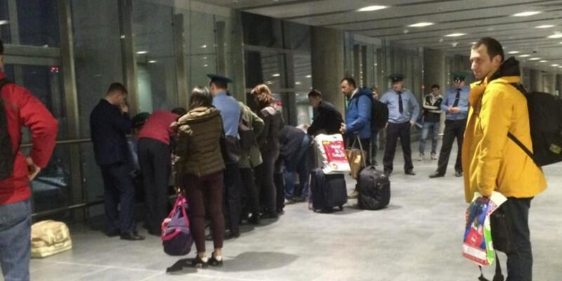 11 Türk yolcu Rusya'ya alınmadı