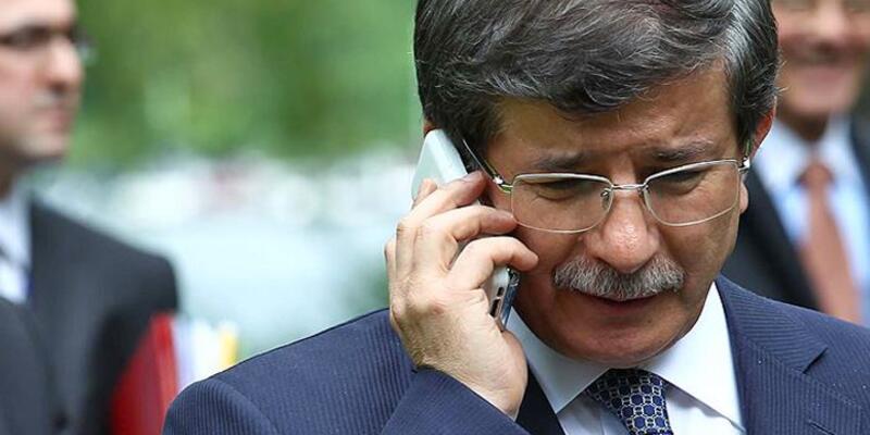 Davutoğlu'dan Miray bebeğin ailesine taziye telefonu