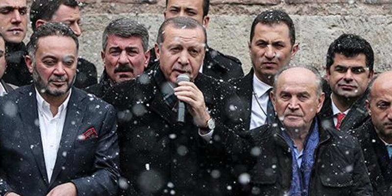 Cumhurbaşkanı kar altında müze açtı