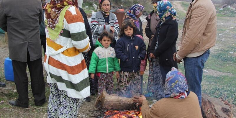 Çadırda yaşayan kadın donarak öldü