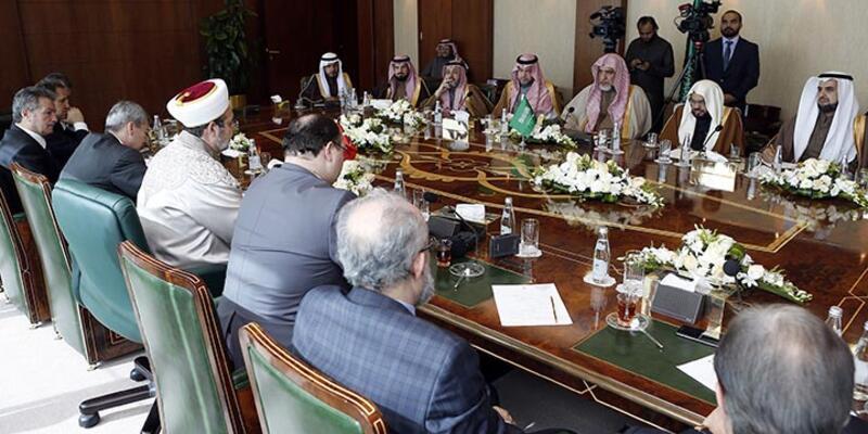 Diyanet İşleri Başkanı, İran'ın ardından Suudi Arabistan'da