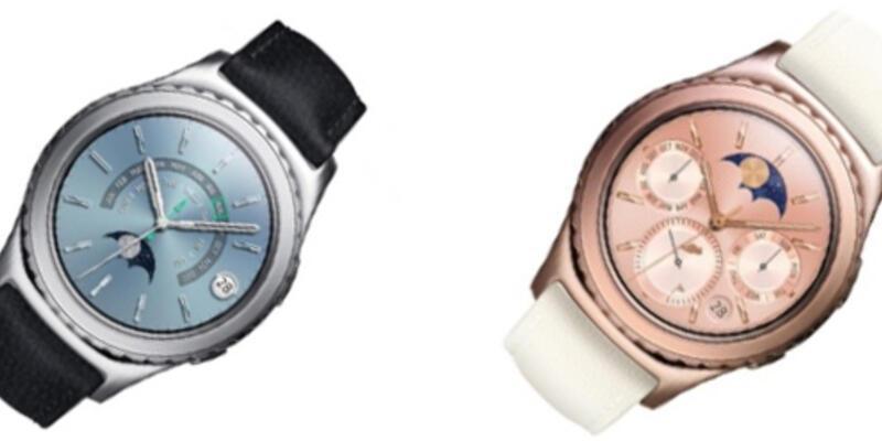 Samsung Gear S2 yeni renk seçenekleri