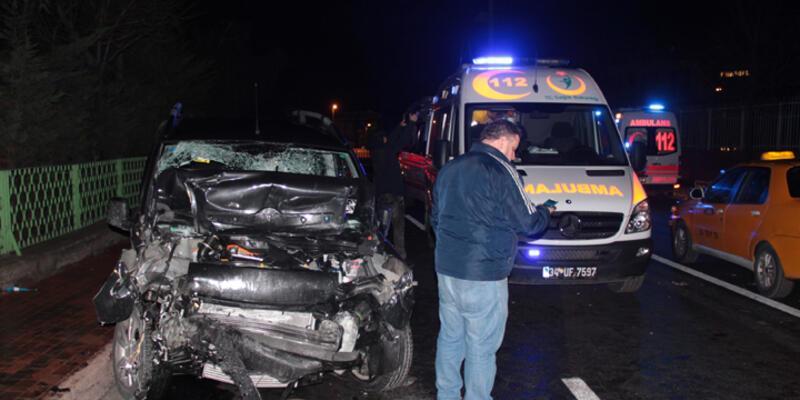 Şişli'de trafik kazası: 7 Yaralı