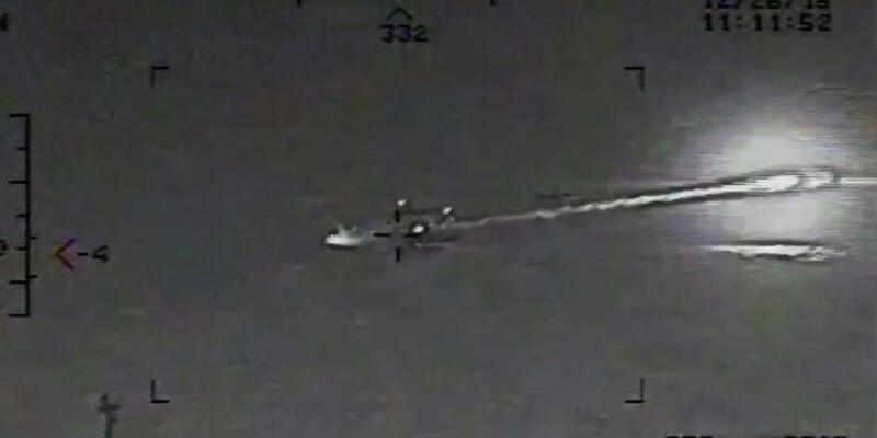 ABD İran'ın roket fırlatma görüntülerini yayınladı