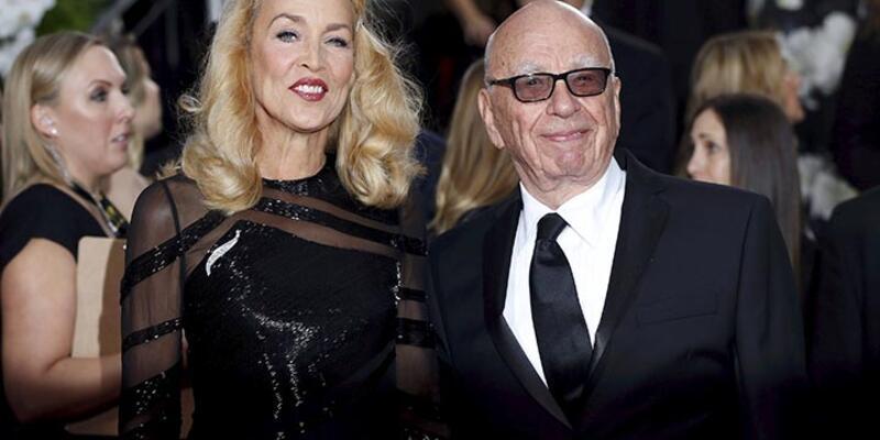 Rupert Murdoch nişanlandı