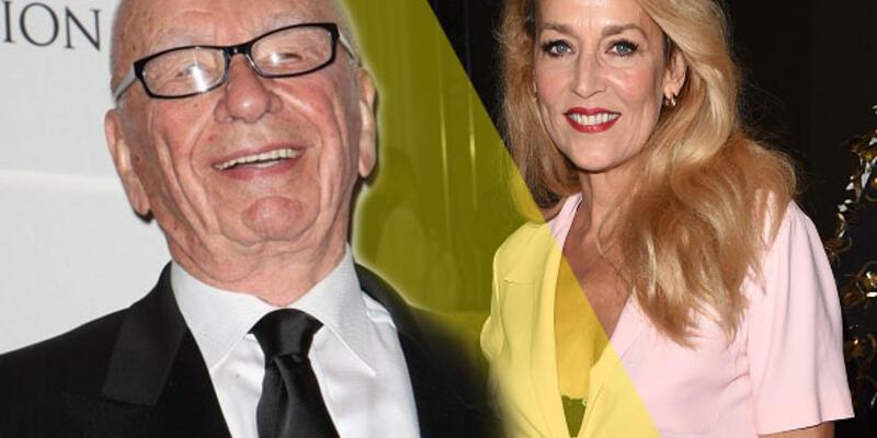 Rupert Murdoch 84 yaşında nişanlandı