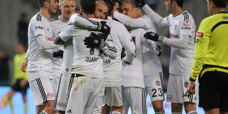 Beşiktaş son dakikada güldü!