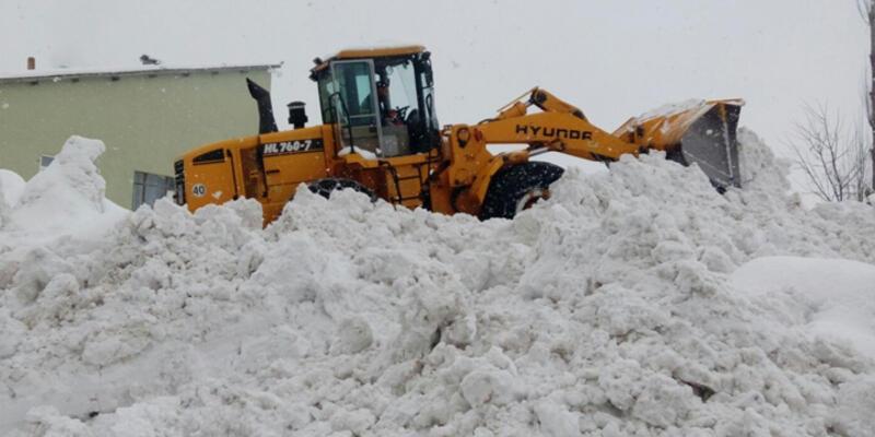 Doğu'da çetin kış şartları