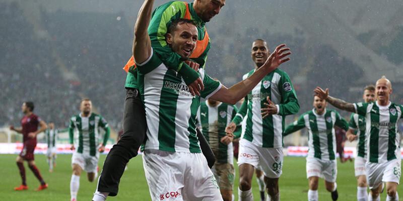 Bursa'da müthiş maç!