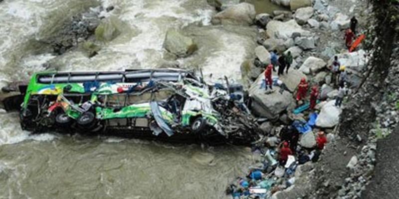 Peru'da feci kaza: 16 ölü!
