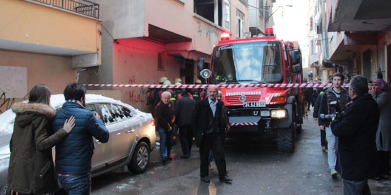 Kadıköy'de yangın! 1 ölü...