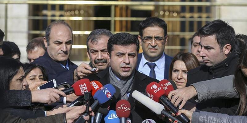 "Demirtaş: ""HDP milletvekilinin de olduğu heyete ateş açıldı"""