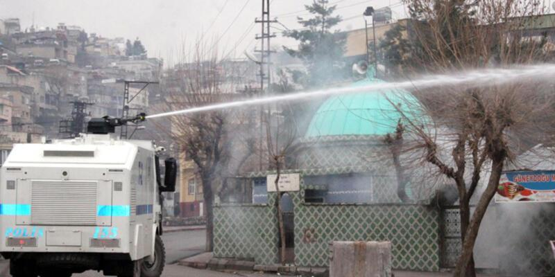 Siirt'teki HDP yürüyüşünde olaylar çıktı