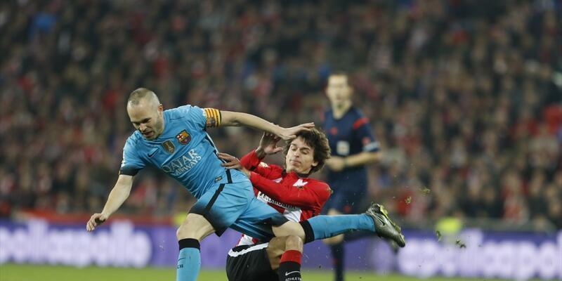 Messi'siz Barcelona Bilbao'da rahat kazandı